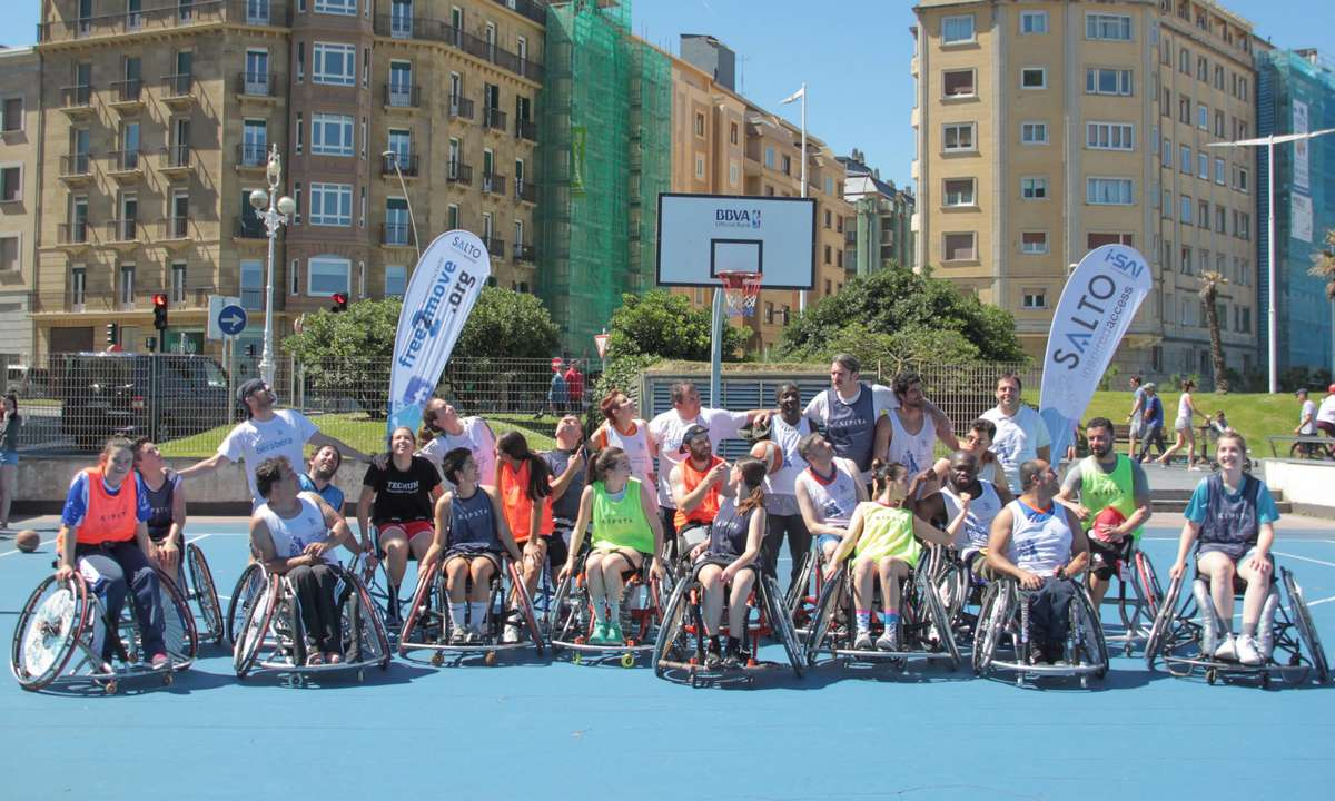 II. Torneo inclusivo 3x3 Wild Chair Basketball